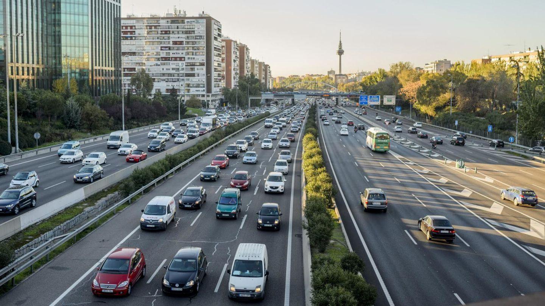 Situacion del trafico en Madrid