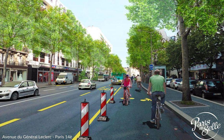 Ciclovias Paris