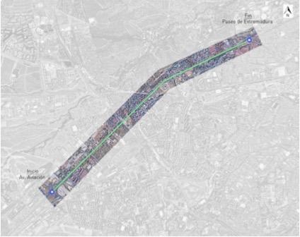 Estudio de trafico paseo Extremadura